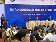 亚太经合组织第11届灾害管理高官会开幕