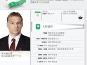 图表新闻:匈牙利总理欧尔班·维克托