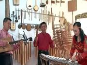 为保护越南民族传统乐器无私奉献一辈子的艺人