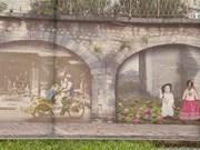 冯兴壁画项目兴工   美化首都河内面貌