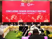 2017年APEC高官总结会议在岘港市开幕