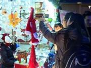 河内首次举行德国式圣诞集市
