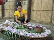 在河内体验山罗省傣族传统文化节
