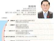 图表新闻:越共十二届中央书记处成员陈锦绣简历