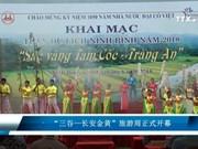 """""""三谷-长安金黄""""旅游周在宁平省举行"""