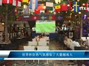 世界杯狂热氛围感染了大量越南人