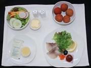 越南航空公司将荔枝纳入飞机餐之中