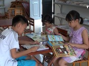免费图书馆激发孩子们的阅读兴趣