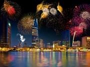 2018年岘港国际烟花节给游客留下深刻印象
