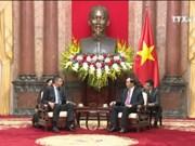 越南国家主席会见保加利亚情报局局长