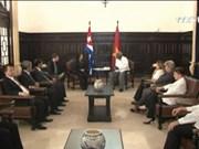 越南国会主席阮氏金银在古巴开展的系列活动