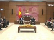 国会副主席冯国显会见美国-东盟商务理事会代表团