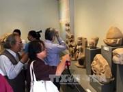 占族文物展在顺化宫廷文物博物馆举办