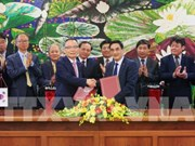 越南与韩国签署总额为7700亿美元的信贷协定