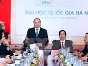 越南政府总理阮春福:河内国家大学需率先制定创业计划