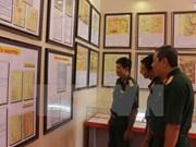 黄沙、长沙群岛归属越南地图资料展   弘扬爱国主义