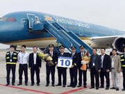 越南航空公司接收第10架波音787-9梦幻客机