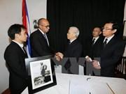 越南领导人吊唁古巴革命领袖菲德尔·卡斯特罗逝世