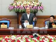 阮春福总理主持召开11月份例行会议  强调政府必须言行一致