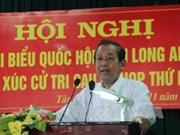 越南党及国家领导纷纷开展与各地选民接触活动