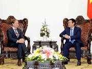 政府副总理王廷惠会见欧盟驻越代表团团长安格莱特大使