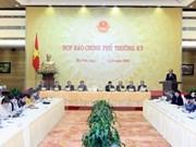 越南政府11月份例行记者会:解答社会舆论关心的许多问题