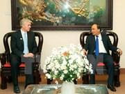 阮春福总理会见亚洲开发银行驻越首席代表埃里克·西奇威克