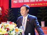 王廷惠副总理要求河静省将新农村建设与海洋环境事故后重建工作相结合