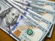 越盾兑美元中心汇率较前一周周末下跌6越盾