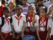 古巴领袖菲德尔·卡斯特罗:古巴革命的象征