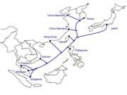 亚洲最大容量海底光缆即将投入运营