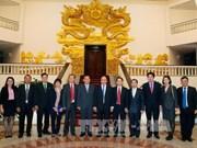越南政府总理会见老挝巴特寮通讯社社长