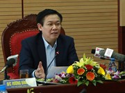 越南政府副总理王廷惠:及早完善关于国家所有权人在企业的代表机构的提案