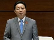 越南自然资源与环境部部长就有关环境污染和土地的疑问进行解答