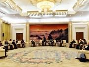 中国全国政协副主席万钢会见越南代表团