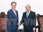 越南政府总理阮春福会见西班牙驻越大使
