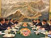 越共中央组织部部长范明政访问中国