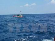 成功将承载15名船员的NA 90144 TS渔船安全拖到岸边