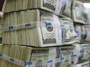 越盾兑美元中心汇率较前一日下降5越盾