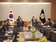 越南最高人民法院代表团对韩国进行正式访问