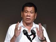 菲律宾总统杜特尔特对柬埔寨进行正式访问