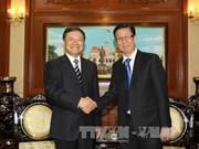 越南胡志明市和中国大连市加强合作 共促发展
