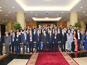 阮富仲总书记会见第五次越南学国际学术研讨会与会代表