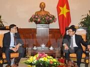 委内瑞拉外交部代表团对越南进行访问