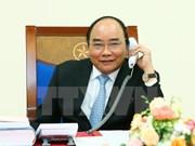 越南政府总理阮春福同美国当选总统唐纳德·特朗普通电话