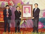 陈大光主席出席宁平省华闾县荣获越南新农村建设新标准称号授予仪式