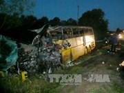 俄罗斯一交通事故造成5名越南人死亡