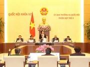 越南第十四届国会常委会第五次会议在河内隆重召开