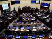 越南领导人致电祝贺哥伦比亚两院通过和平协议