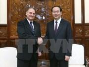 陈大光主席会见UNESCO世界学习和世界公民教育项目主席托雷斯